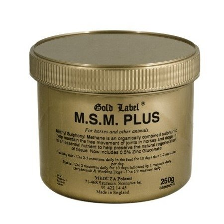MSM Plus Gold Label na stawy 250g