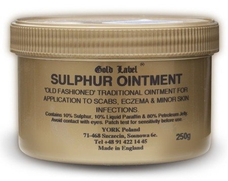Sulphur Ointment Gold Label 250 g